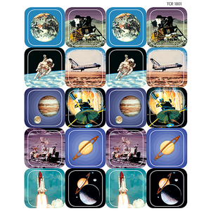 TCR1801 Space Stickers Image