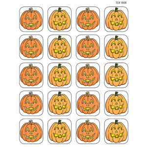 TCR1808 Pumpkins Stickers Image