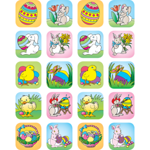 TCR1810 Easter Stickers Image