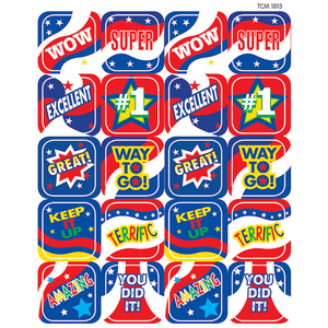 TCR1813 USA Spirit Stickers Image