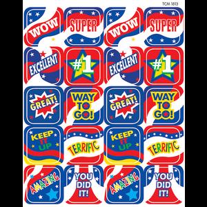 TCR1813 USA Spirit Stickers Image