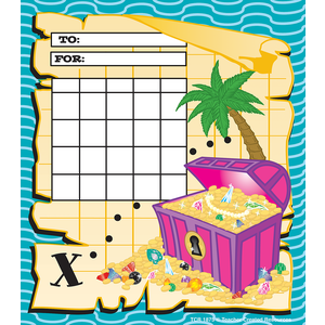 Treasure Chest Incentive Charts Image
