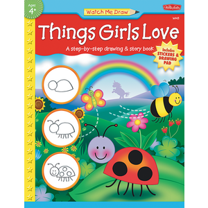 TCR18911 Watch Me Draw: Things Girls Love Image