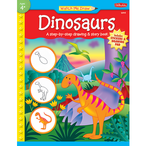 TCR18912 Watch Me Draw: Dinosaurs Image