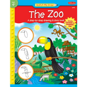 TCR18919 Watch Me Draw: The Zoo Image
