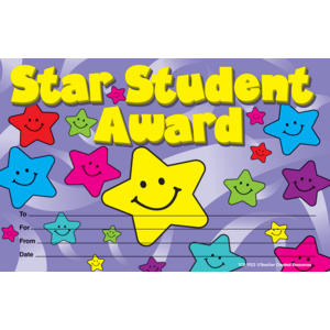 TCR1922 Star Student Awards Image