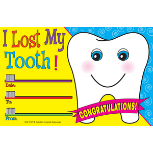 TCR1927 I Lost My Tooth Awards Image