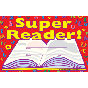 Super Reader Awards Image