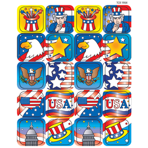 TCR1984 Patriotic 2 Stickers Image
