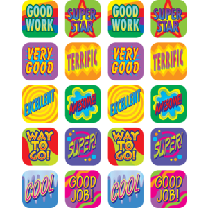 TCR1990 Good Work Stickers Image