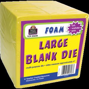 Large Foam Blank Die Image