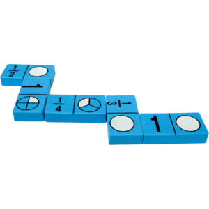block letter a foam fraction dominoes tcr20627 created resources 20627 | 20627