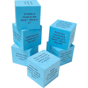 TCR20634 Foam Reading Comprehension Cubes Image