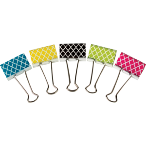 TCR20669 Moroccan Large Binder Clips Image