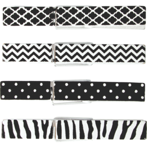 TCR20672 Black & White Clothespins Image