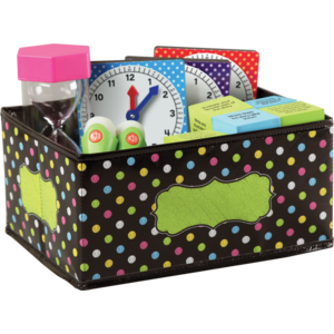 TCR20764 Chalkboard Brights Small Storage Bin Image