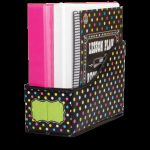 TCR20784 Chalkboard Brights Book Bin Image