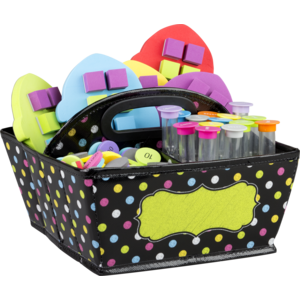 TCR20788 Chalkboard Brights Storage Caddy Image