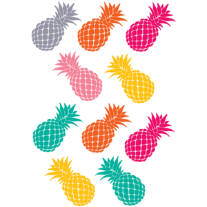 TCR2156 Tropical Punch Pineapples Accents         Image