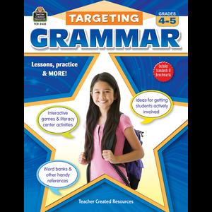TCR2435 Targeting Grammar Grades 4-5 Image