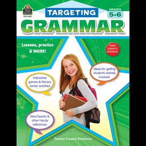 Targeting Grammar Grades 5-6 Image