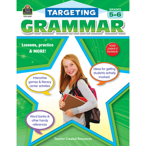 TCR2437 Targeting Grammar Grades 5-6 Image
