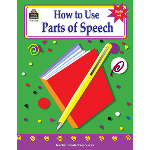 TCR2500 How to Use Parts of Speech, Grades 6-8 Image
