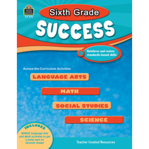 TCR2576 Sixth Grade Success Image