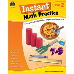 TCR2610 Instant Math Practice Grade 2 Image
