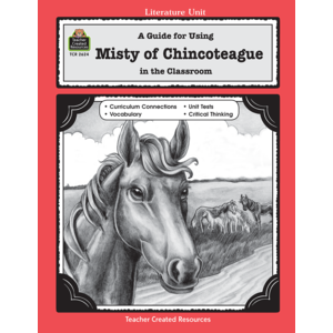 TCR2624 A Guide for Using Misty of Chincoteague in the Classroom Image