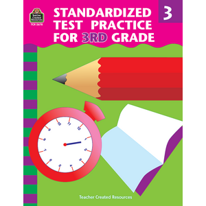 TCR2678 Standardized Test Practice for 3rd Grade Image