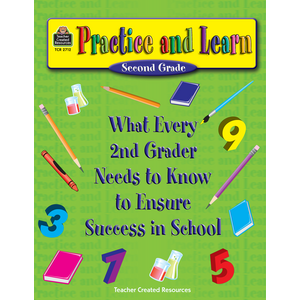 TCR2712 Practice and Learn: 2nd Grade Image