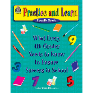 TCR2714 Practice and Learn: 4th Grade Image