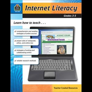 TCR2767 Internet Literacy Grade 3-5 Image