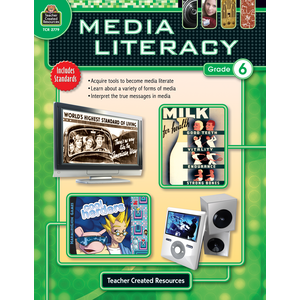 TCR2779 Media Literacy Grade 6 Image