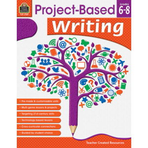 TCR2789 Project Based Writing Grade 6-8 Image
