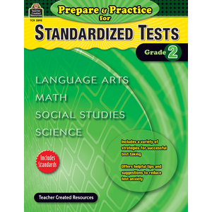 TCR2892 Prepare & Practice for Standardized Tests Grade 2 Image