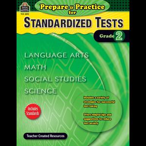 Prepare & Practice for Standardized Tests Grade 2 Image