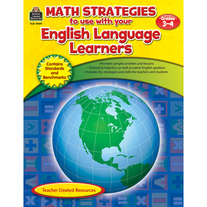 TCR2909 Math Strategies to use with English Language Learners Gr 3-4 Image