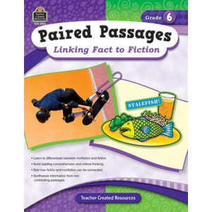 TCR2916 Paired Passages: Linking Fact to Fiction Grade 6 Image