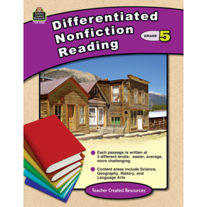 TCR2922 Differentiated Nonfiction Reading Grade 5 Image