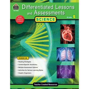 TCR2925 Differentiated Lessons & Assessments: Science Grade 5 Image