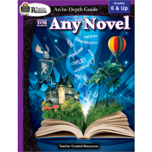 TCR2973 Rigorous Reading: An In-Depth Guide for Any Novel Grade 6-Up Image