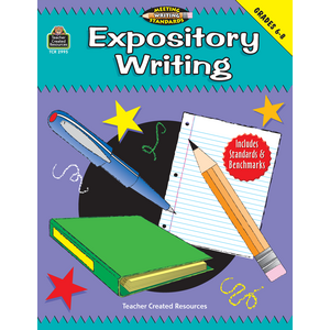 TCR2995 Expository Writing, Grades 6-8 (Meeting Writing Standards Series) Image