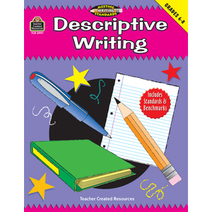 TCR2997 Descriptive Writing, Grades 6-8 (Meeting Writing Standards Series) Image