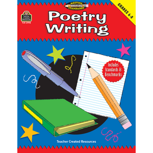 TCR2998 Poetry Writing, Grades 6-8 (Meeting Writing Standards Series) Image
