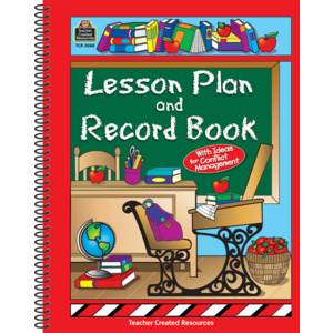 TCR3008 Lesson Plan and Record Book Image