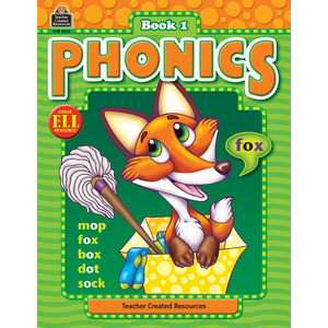 TCR3015 Phonics Book 1 Image