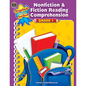 TCR3028 Nonfiction & Fiction Reading Comprehension Grade 1 Image