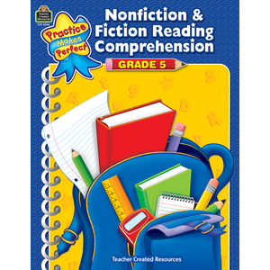 TCR3046 Nonfiction & Fiction Reading Comprehension Grade 5 Image